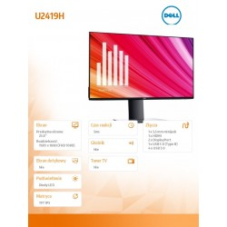 Dell Monitor U2419H...